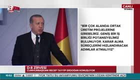Erdoğan: Milli ve yerli parayla ticaret yaparsak ülkelerimiz kazanır