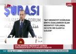 Erdoğan'dan Trump'a medeniyet göndermesi