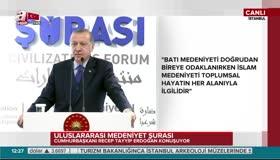 Erdoğandan Trumpa medeniyet göndermesi