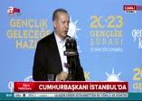Erdoğan: İşte ben böyle bir gençlik istiyorum  .