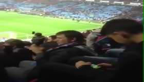 Trabzonspor taraftarı Galatasaray galibiyetini böyle kutladı