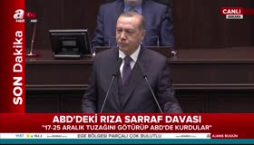 Erdoğan konuşmasını kesip cevap verdi
