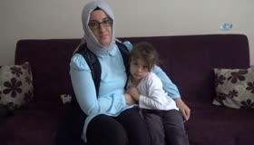 Tayyip Dede diye bağıran 3,5 yaşındaki Gülhan'ın Erdoğan sevgisi