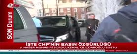 A Haber muhabiri sordu Kılıçdaroğlu kaçtı