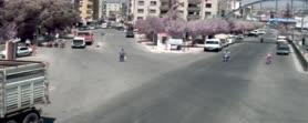 Mersin'deki trafik kazaları kamerada!