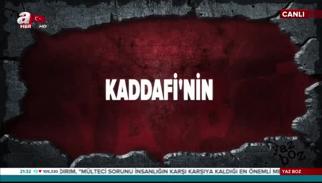 Kaddafi'nin sonunu getiren konuşma