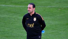 Hasan Şaş, Galatasaray antrenmanında