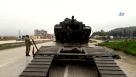 PKK avcısı tankların sınıra sevkiyatı sürüyor!