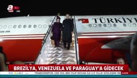 Cumhurbaşkanı Erdoğan Latin Ameriyaya gidiyor