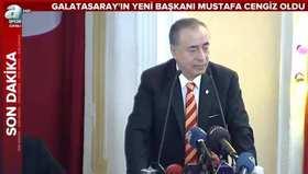 Mustafa Cengizin zafer konuşması