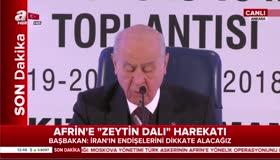 Bahçeli: Ya Afrin yıkılsın ya teröristler yakılsın!