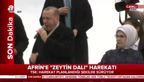 Cumhurbaşkanı Erdoğan: Teröristlerin nasıl kaçtıklarını görüyorum