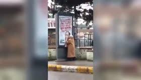 Sevimli teyzenin Erdoğan sevgisi
