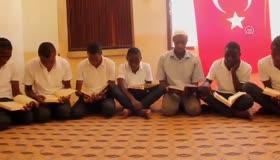 Tanzanyalı öğrenciler Zeytin Dalı Harekatına dualarıyla destek oldu