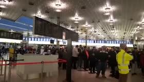 Almanya'da PKK yandaşları havalimanında Türk yolculara saldırdı