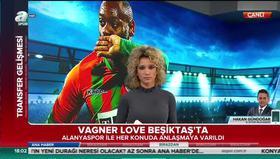 Vagner Love Beşiktaşta