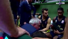 Fenerbahçenin koçu Obradovicten skandal hareket