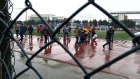 Yeni Çansporlu futbolculara saldırı