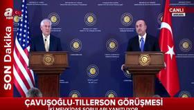 ABD Dışişleri Bakanı Rex Tillersondan Münbiç ve FETÖ açıklaması