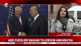 Ankarada Tillersona büyük tepki