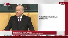 MHP lideri Devlet Bahçeliden idam mesajı!