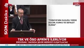 Erdoğan: Hepsinin hakkından ALLAHın izniyle geliriz!