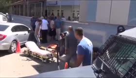 HDPnin yeni yöneticisinin terörist cesedi taşıma görüntüleri