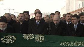 A Haber Genel Müdürü Abdülhalik Çimenin annesi son yolculuğuna uğurlanıyor