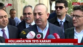 Dışişleri Bakanı Çavuşoğlundan flaş Hollanda açıklaması