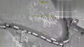 TSK, siviller ayrıldıktan sonra terör konvoyunu böyle vurdu
