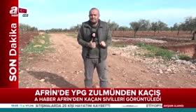 Afrinde YPG zulmünden kaçış