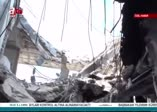 A Haber Afrin'de teröristlerin sözde asayiş binasını görüntüledi