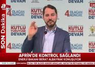 Enerji Bakanı Berat Albayrak'tan önemli açıklamalar!