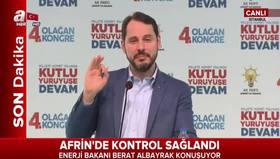 Enerji Bakanı Berat Albayraktan önemli açıklamalar!