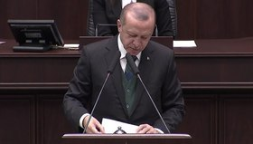 Cumhurbaşkanı Erdoğandan tüyleri diken diken eden Afrin şiiri!