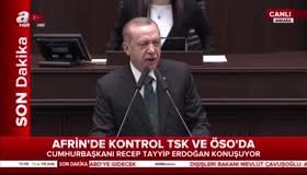 Erdoğandan Afrinde kaygılıyız diyen ABD sözcüsüne tokat gibi yanıt!