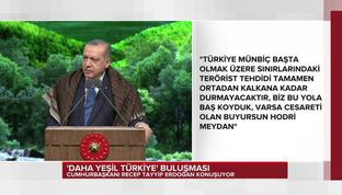 Erdoğan'dan ABD'ye Münbiç tepkisi