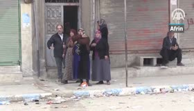 Afrinliler teröristlerin kaçışını anlattı: Fare ve köpek gibi kaçtılar